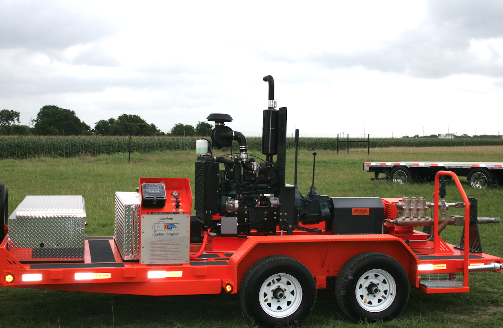 Rental Equipment, Dependable Machinery | Absolute Pipeline Integrity